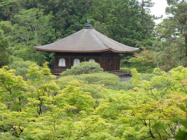 5 silver pagoda (ginkakuji temple), kyoto